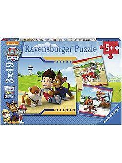 Garçon 4-12 ans 3 puzzles 'La Pat'Patrouille' de 'Ravensburger'