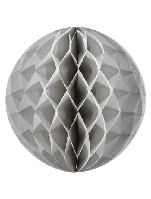 5 mini boules alvéolées                                                      gris