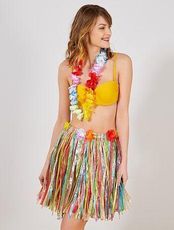 Femme - Accessoire jupe hawaïenne - Kiabi