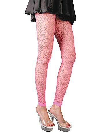 Femme - Accessoire paire de legging résille fluo - Kiabi 4a0d1712b83