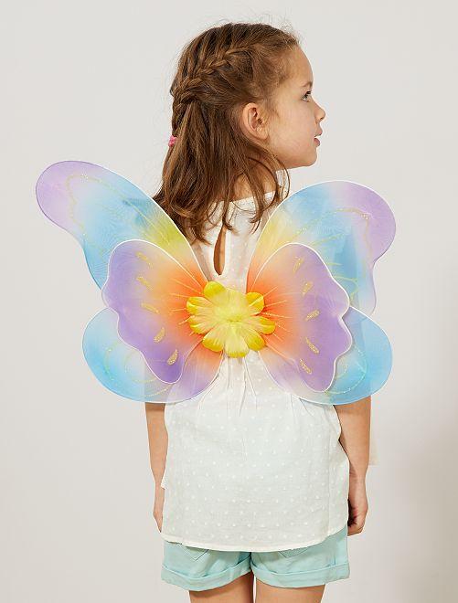Ailes de papillon                             multicolore