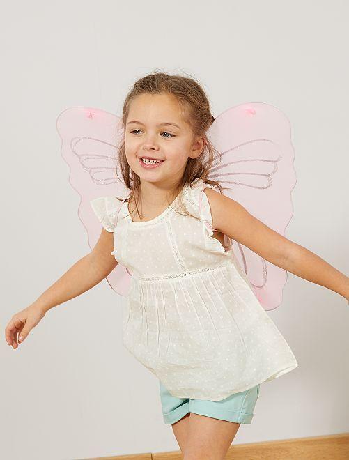 Ailes de papillon                             rose Enfant