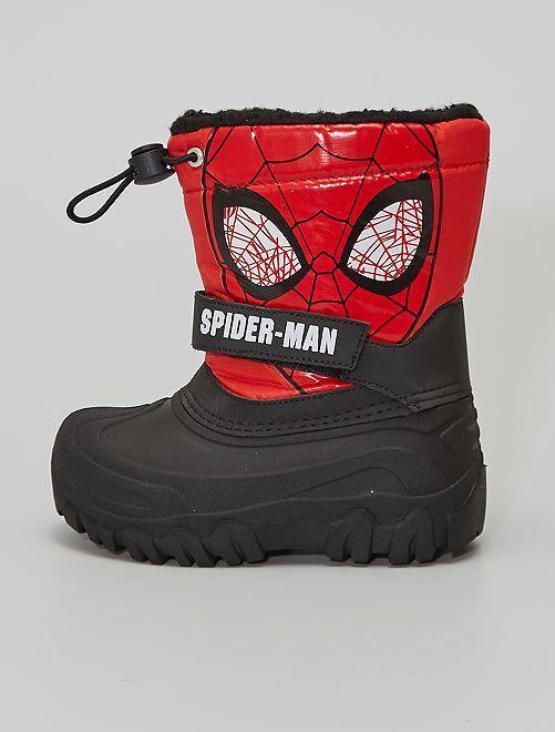Après-ski 'Spider-man'                             NOIR