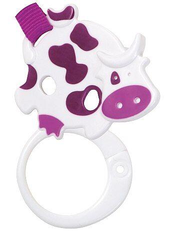 Fille 0-36 mois - Attache-sucette ruban 'vache' 'Tigex' - Kiabi