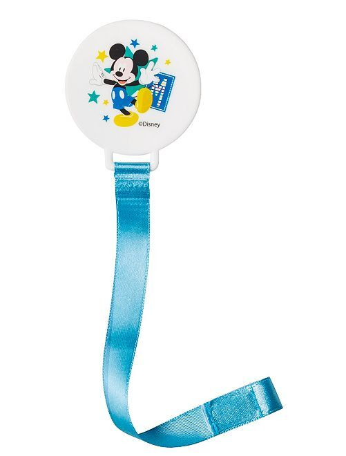 Attache tétine 'Mickey' de 'Disney Baby'                                                     bleu