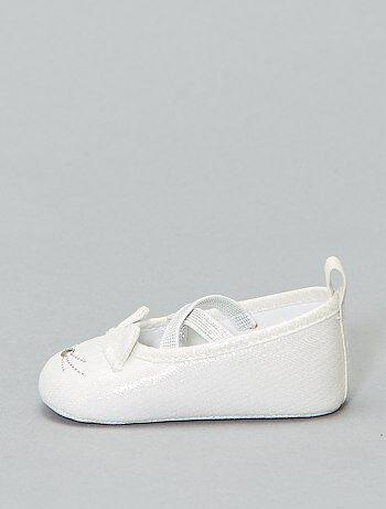 000bc2b6be Chaussures bébé fille - chaussons, ballerines pour Bébé fille | Kiabi