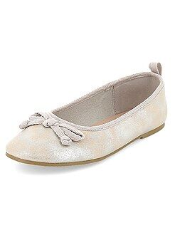 Chaussures, chaussons - Ballerines en simili - Kiabi