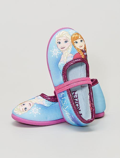 Ballerines 'Reine des Neiges' de 'Disney'                             bleu/rose