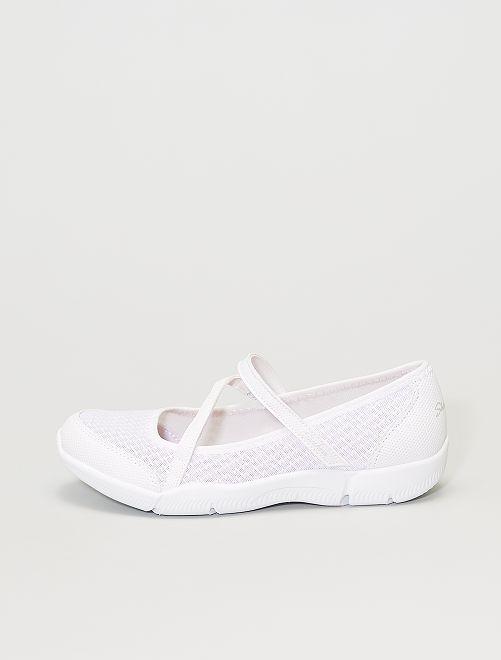 Ballerines 'Skechers'                             blanc