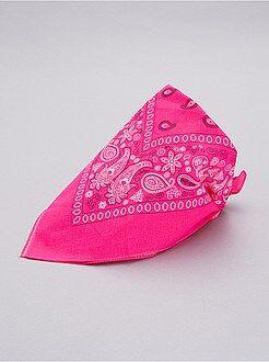 Accessoires - Bandana rose fluo - Kiabi