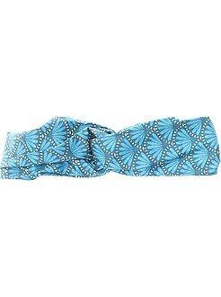 Accessoire - Bandeau en tissu imprimé esprit wax