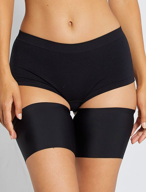 Bandes cuisses anti-frottement 'By Bra'                                         noir