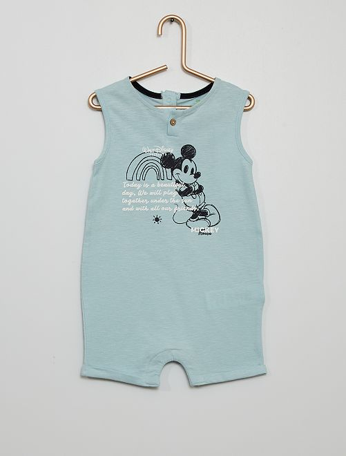 Barboteuse 'Mickey' de 'Disney'                             BLEU