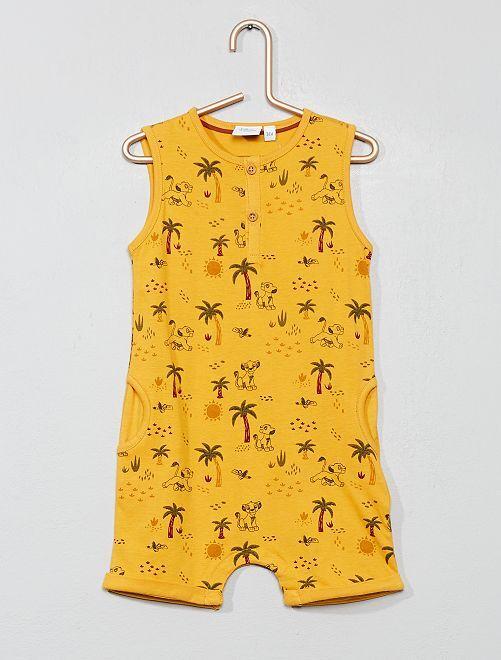 Barboteuse 'Simba'                                         jaune Bébé garçon