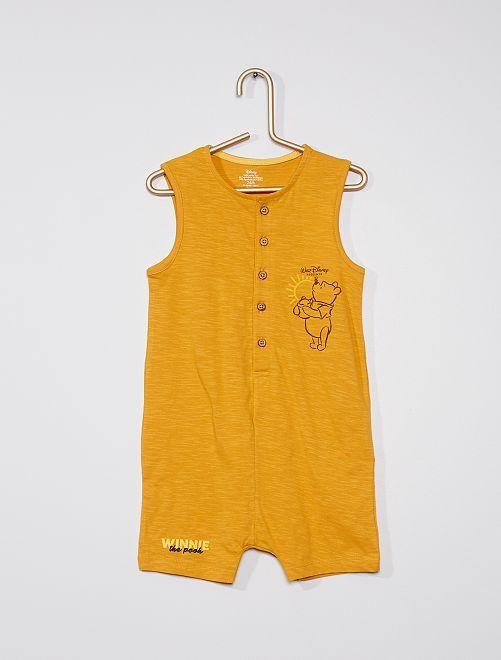 Barboteuse 'Winnie' de 'Disney'                                         jaune