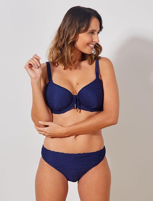 Bas de maillot de bain 'Sans Complexe'                             bleu