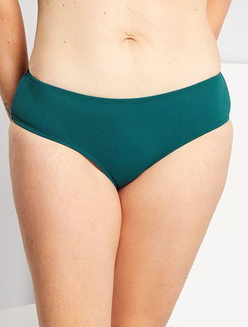 Bas de maillot de bain shorty                             vert lagon