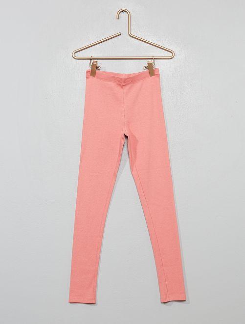 Bas de pyjama côtelé                                         rose
