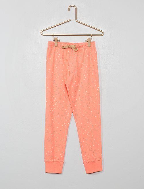 Bas de pyjama imprimé                                         rose