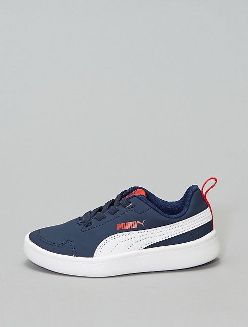 Basket 'Puma' 'Courtflex PS'                                         bleu