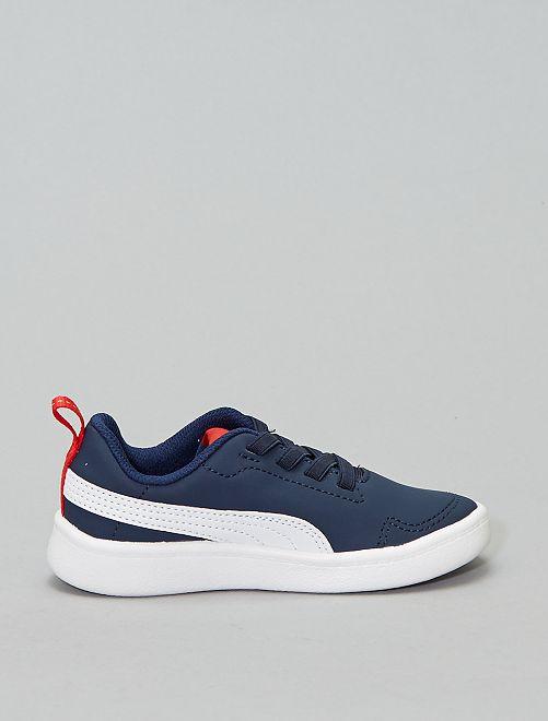 40 Suvpzqm Bleu 00€ 'puma' Chaussures Basket 'courtflex Kiabi Ps' gyIYb6vf7