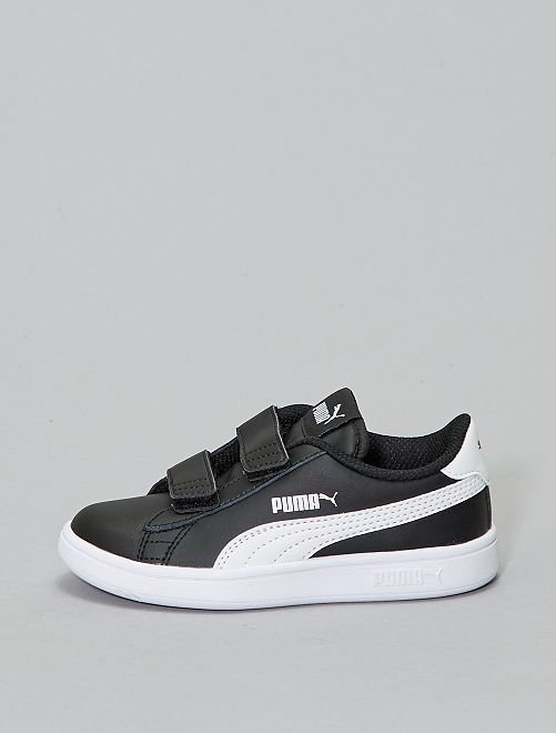 Basket 'Puma' 'Smash v2 L V PS'                                                     noir/blanc
