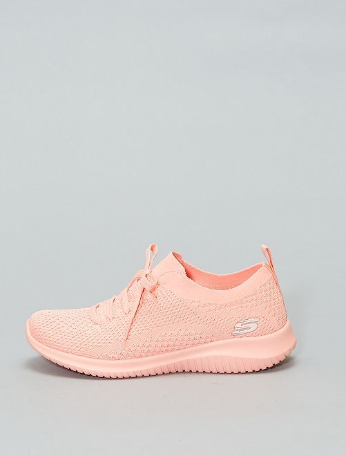 Baskets à enfiler 'Skech-Knit' de Skechers'                             rose Femme