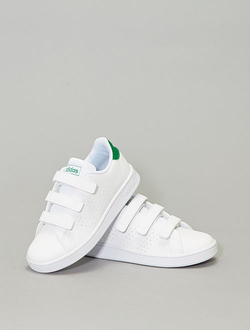 Baskets à scratch 'adidas Advantage C'                             blanc