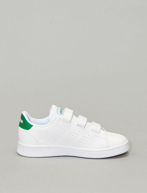adidas blanche a scratch