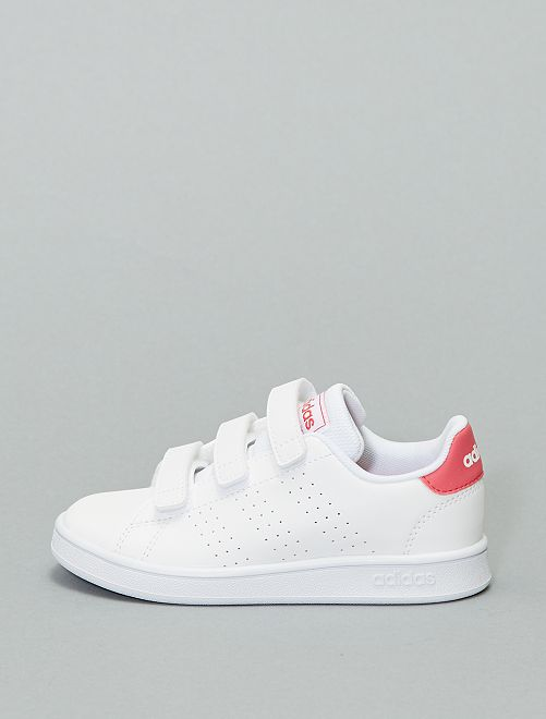 Baskets à scratch 'adidas Advantage C'                             rose