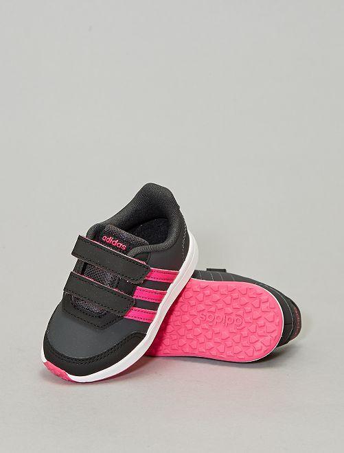 Baskets à scratch 'adidas'                             noir/rose