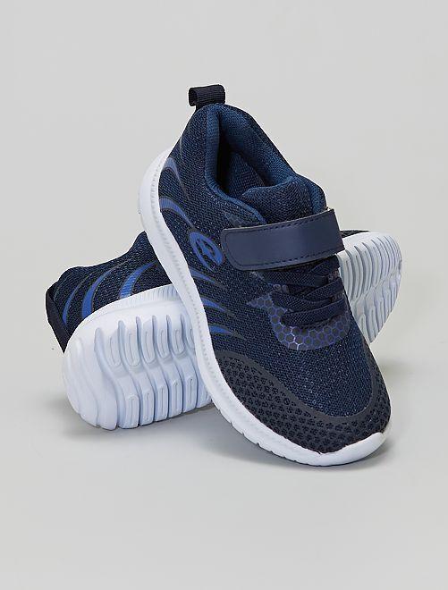 Baskets à scratch                             bleu