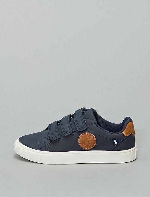Baskets à scratch                                         bleu navy