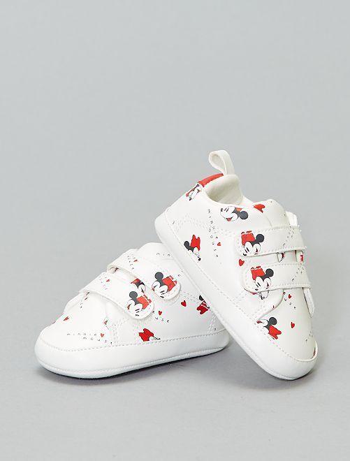 Baskets à scratch 'Minnie'                             blanc Chaussures