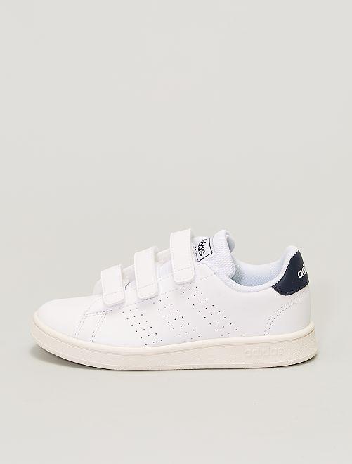 Baskets à scratchs 'adidas Advantage C'                             blanc