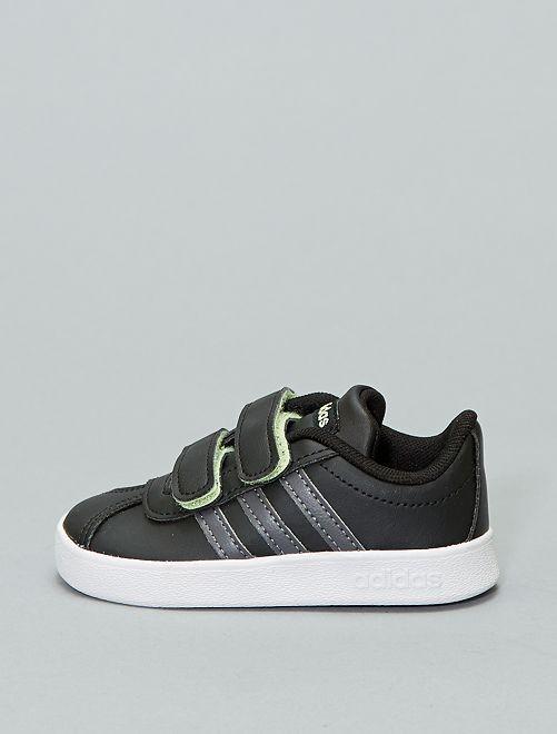 Baskets à scratchs 'Adidas VL COURT 2 CMF'                                         noir Bébé garçon