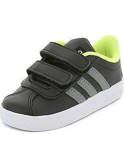 Garçon 3-12 ans - Baskets à scratchs 'Adidas VL COURT 2 CMF' - Kiabi