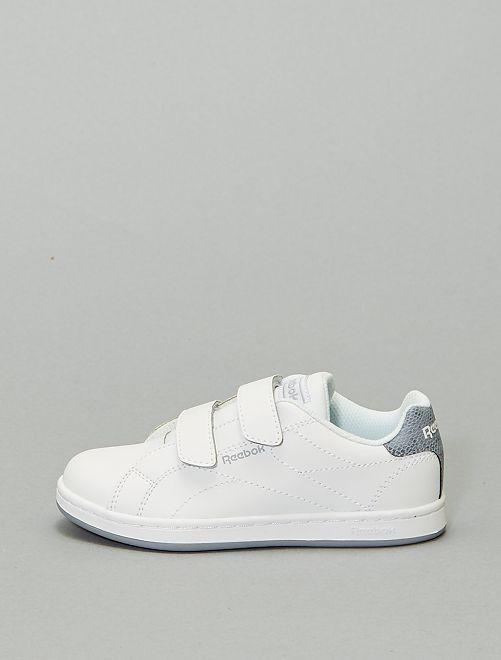 Baskets à scratchs 'Reebok Royal Complete'                             blanc