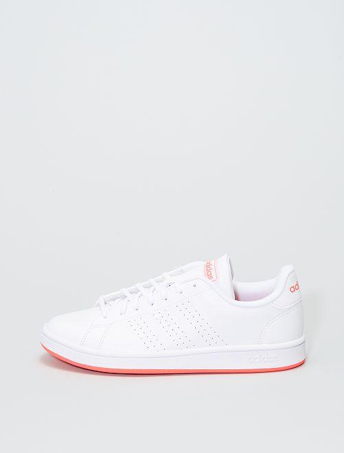 Baskets 'adidas' 'Advantage base'                             blanc