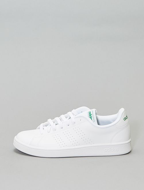 Baskets 'adidas advantage base'                             blanc/vert Homme