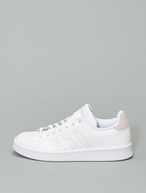 Baskets 'adidas Advantage'                                         blanc/rose