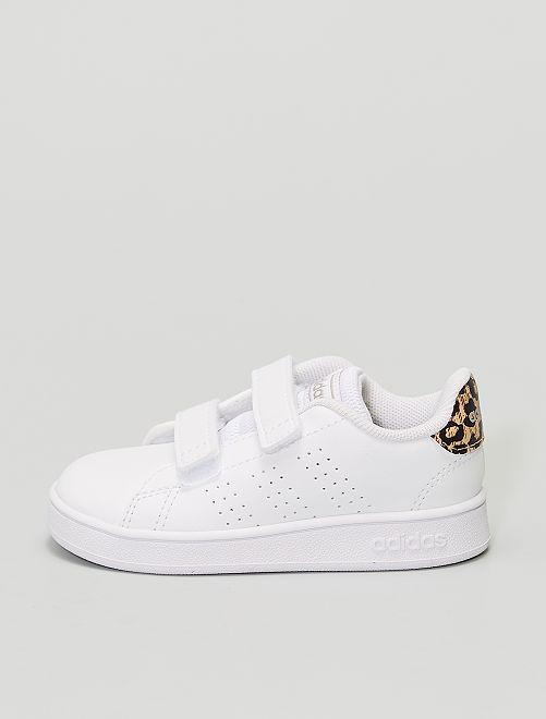 Baskets 'adidas Advantage I' léopard                             blanc
