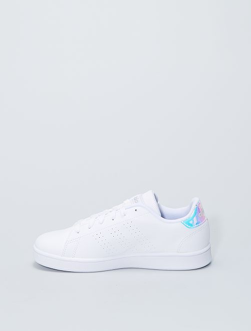 Baskets 'adidas advantage K'                             blanc