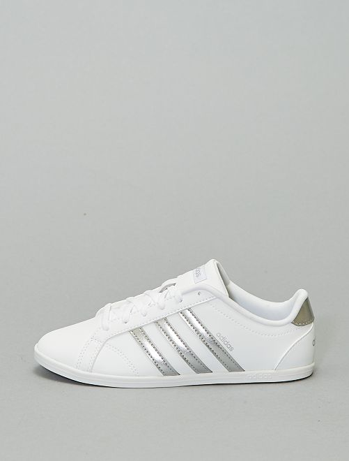 Baskets 'adidas coneo'                             blanc/argent