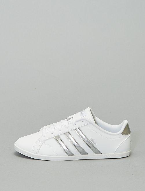 Baskets 'adidas coneo'                                                     blanc/argent