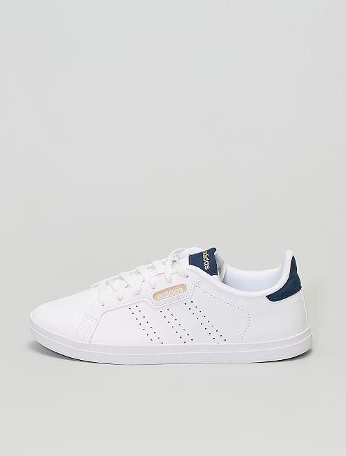 Baskets 'adidas Courtpoint Base'                             blanc/bleu