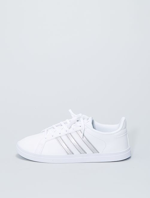 Baskets 'adidas courtpoint'                             blanc