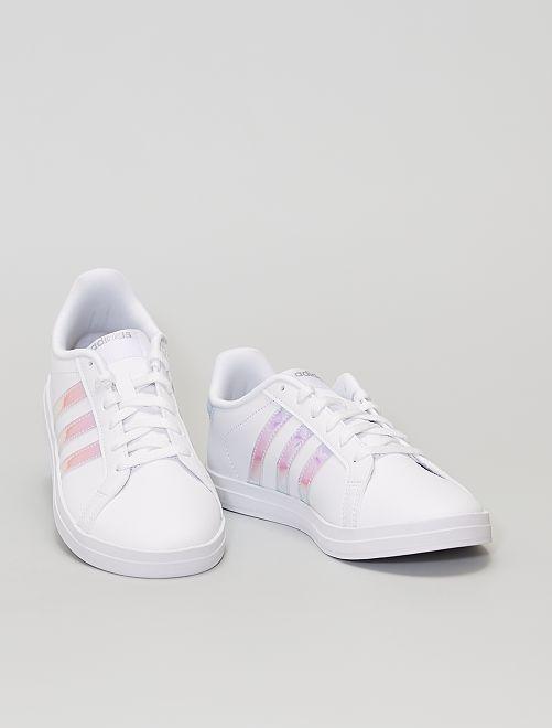 Baskets ' adidas Courtpoint'                             blanc