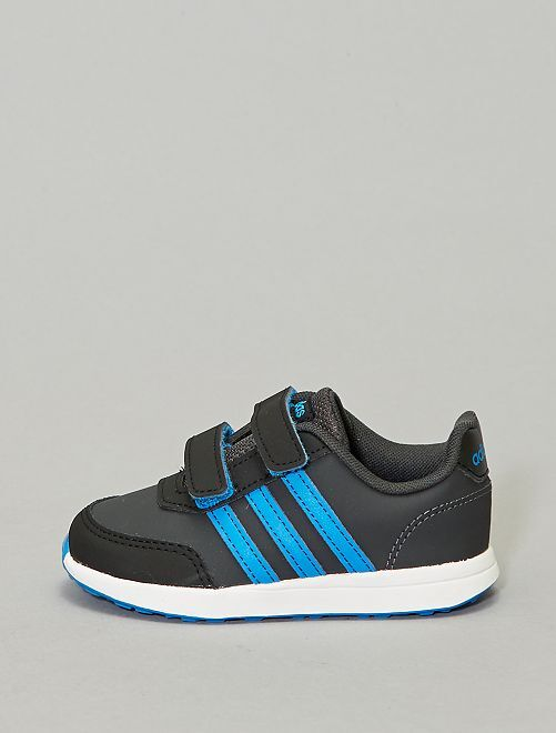 Baskets 'adidas' en simili                             noir/bleu