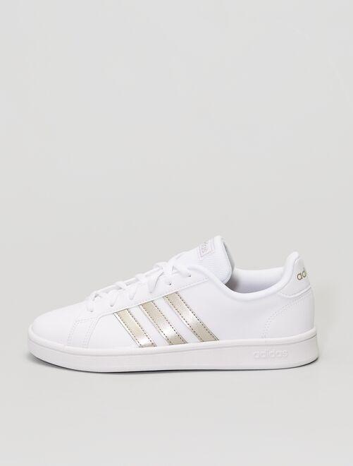 Baskets 'adidas Grand Court base'                             blanche